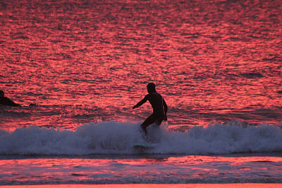 Photograph - Surfing Red Seas by Robert Banach