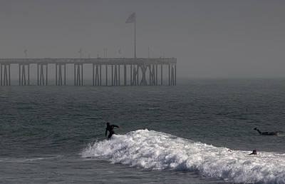 Photograph - Surfing The Fog by Michael Gordon