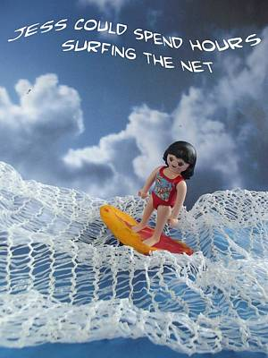 Photograph - Surfing The Net by Caroline Peacock