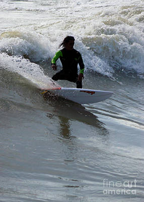 Photograph - Surfing The Waves by Jennifer White