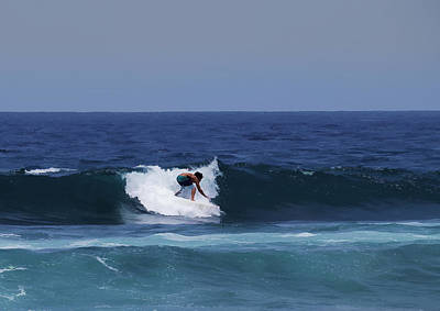 Photograph - Surfing The Waves by Pamela Walton