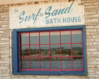 Photograph - Surf'n Sand Bath House  by Kristia Adams