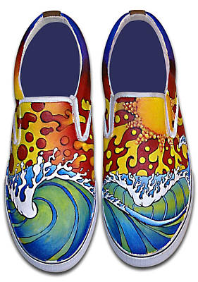 Surf's Up Print by Adam Johnson