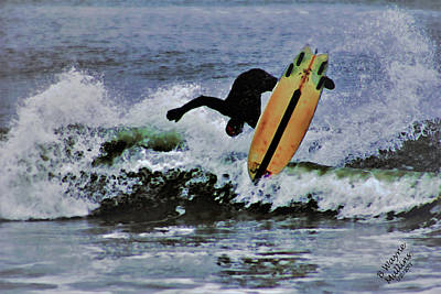 Photograph - Surfs Up by B Wayne Mullins