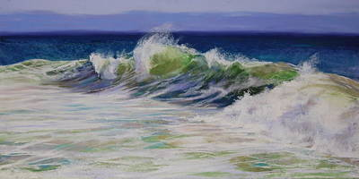 Surfs Up Print by Jeanne Rosier Smith