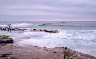 Photograph - Surf's Up by Joseph S Giacalone