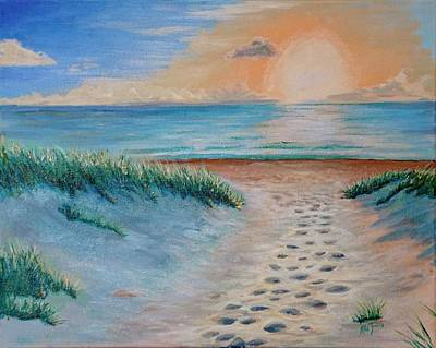 Painting - Surfside Beach Fl by Mike Jenkins