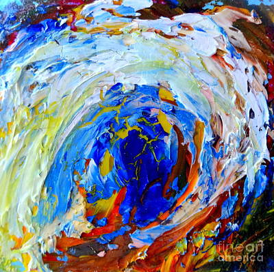 Painting - Surge 1 by Fred Wilson