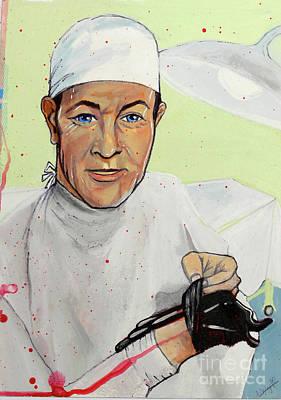 Painting - Surgeon by Michelle Deyna-Hayward