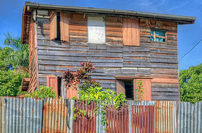 Photograph - Old Suriname House by Nadia Sanowar