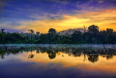 Photograph - Suriname Sunrise by Nadia Sanowar
