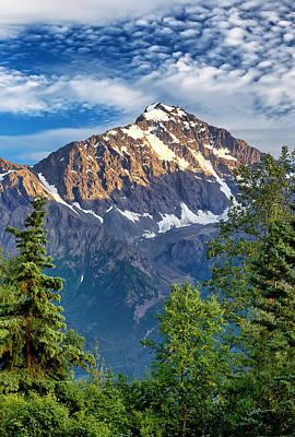 Chugach Mountains Photograph - Surpass by Ed Boudreau