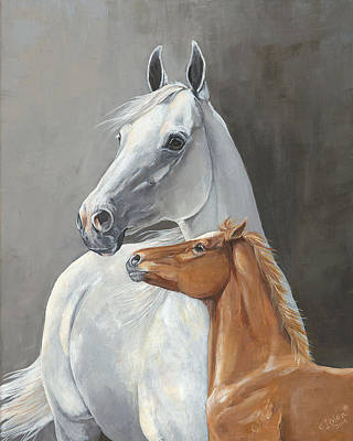 Broodmare Painting - Surprise by Catherine Irving