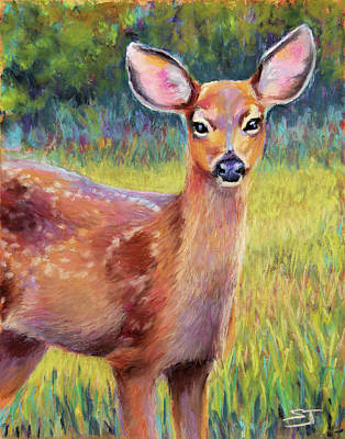 Painting - Surprise Encounter by Susan Jenkins