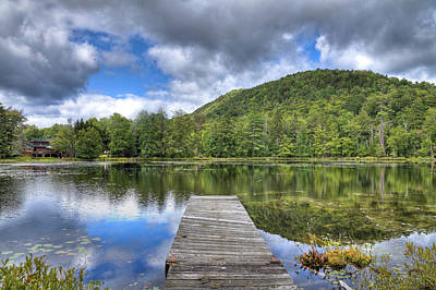 Photograph - Surprise Pond At Palmer Point by David Patterson