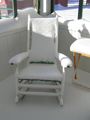 Photograph - Surprise Snowfall by Aggy Duveen