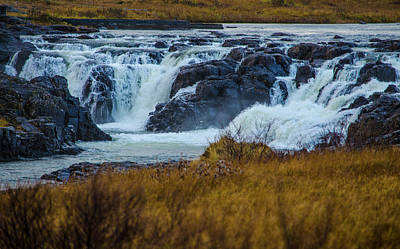 Photograph - Surprise Waterfall Iceland by Deborah Smolinske