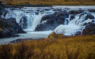 Photograph - Surprise Waterfall Iceland by Deborah Smolinske