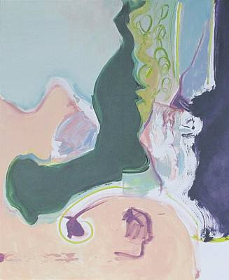 Non-objective Painting - Surprises #9 by Philip Rader