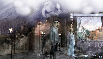 Fairy Painting - Surreal 6764 by Jani Heinonen