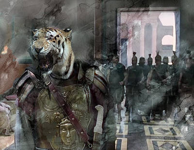 Heroic Painting - Surreal 84 by Jani Heinonen