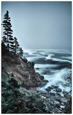 Surreal Acadia Art Print by Chad Tracy