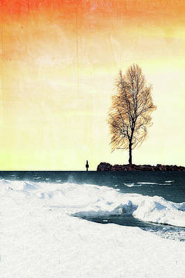 Surreal Day Art Print by Celestial  Blue