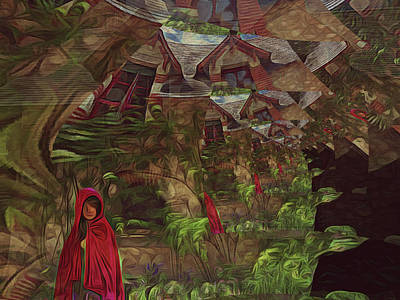 Surrealism Royalty-Free and Rights-Managed Images - Surreal Fairy Tale by Hetty C DeCossy