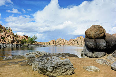Surrealism Royalty-Free and Rights-Managed Images - Surreal Moods Of Watson Lake by Daniel Dean