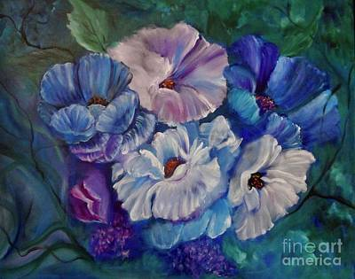 Painting - Surreal Poppies Discount Jenny Lee by Jenny Lee