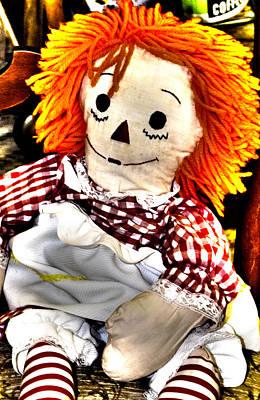 Painting - Surreal Raggedy Ann by Floyd Snyder