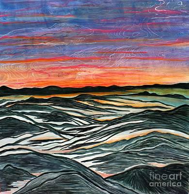 Surreal Serenity Original by Barbara Donovan