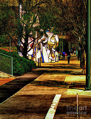 Surrealism Royalty-Free and Rights-Managed Images - Surreal Sidewalk by JB Thomas