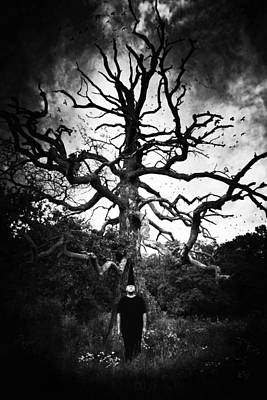 The Trees Photograph - Surreal State by Art of Invi