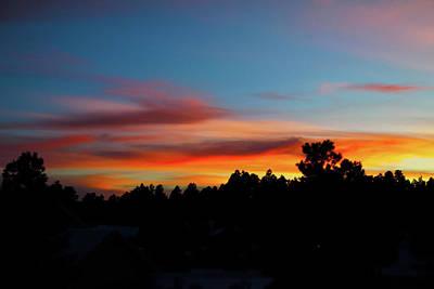 Photograph - Surreal Sunset by Jason Coward