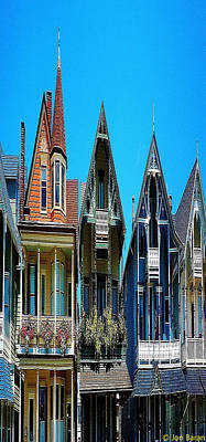 Surrealism Royalty-Free and Rights-Managed Images - Surreal Victorian Homes by Jon Baran
