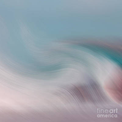 Surrealism Royalty-Free and Rights-Managed Images - Surreal Waves 1 by Linsey Williams