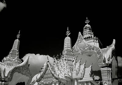 Photograph - Surrealism At Wat Arun by Shaun Higson