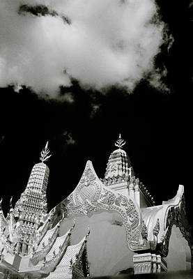 Photograph - Surrealist Art Of Wat Arun by Shaun Higson