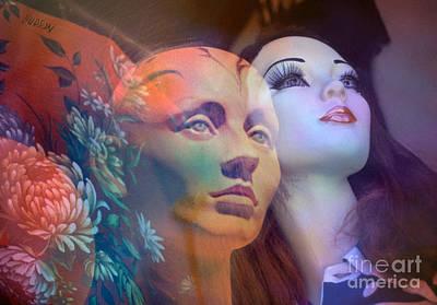 surrealist figure fine art - Do You See What I See Art Print