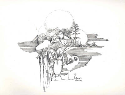 Surrealscape 4 Art Print by Padamvir Singh