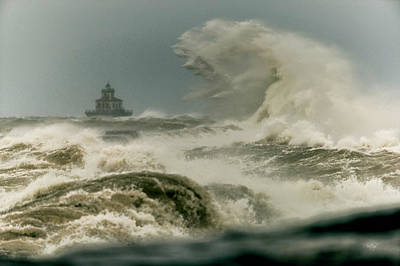 Great Wave Photograph - Surrender by Everet Regal