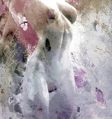 Woman Mixed Media - Surrender by Jacky Gerritsen