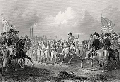 Lord Drawing - Surrender Of Lord Cornwallis At York by Vintage Design Pics