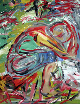 Painting - Surrender  by Romy Kelly