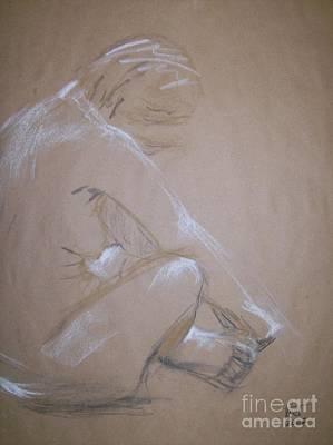 Surrender Art Print by Tina Siddiqui