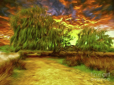 Digital Art - Surrey Surreal by Leigh Kemp