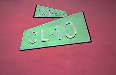 Photograph - Surrey's Cl-10 by Mary Capriole