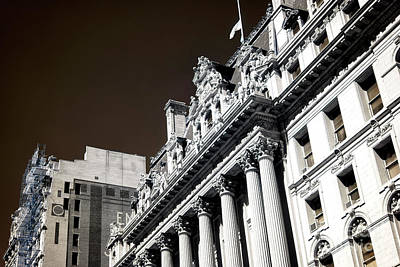 Surrogate's Court Infrared Art Print by John Rizzuto
