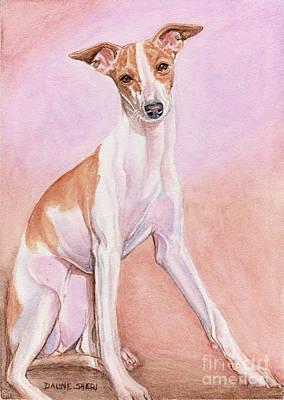 Painting - Paige by Daune Sheri